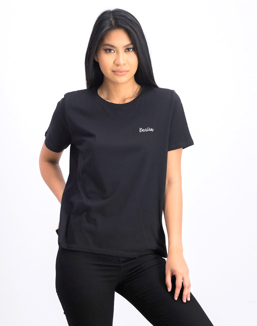 Women's Darlin Tee, Black