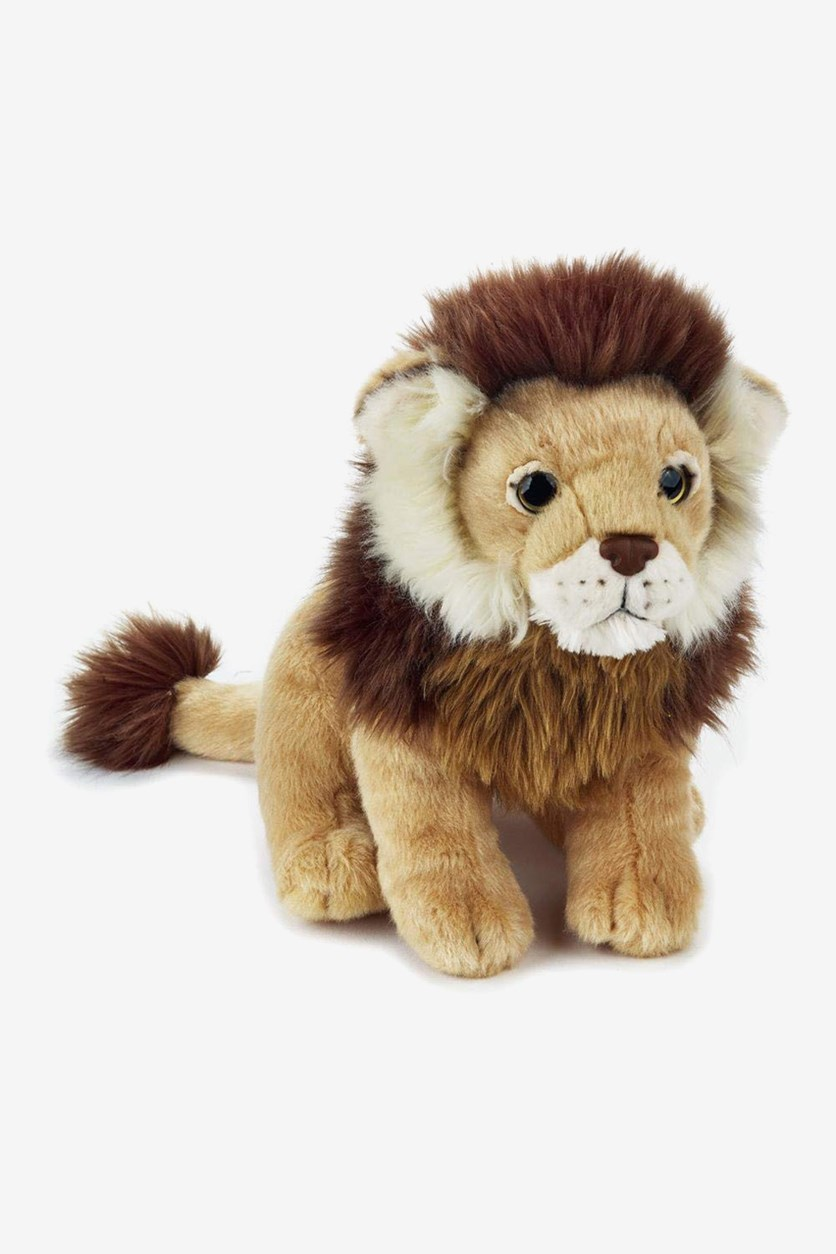 Lion Animal Forest Stuffed Animals Toy, Brown Combo