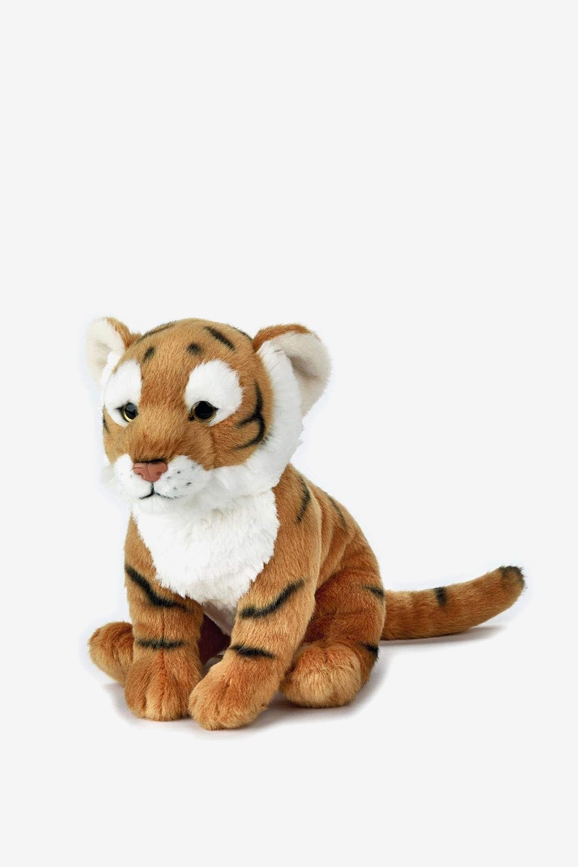 Tiger Forest Stuffed Animals Toy, Light Gold Combo