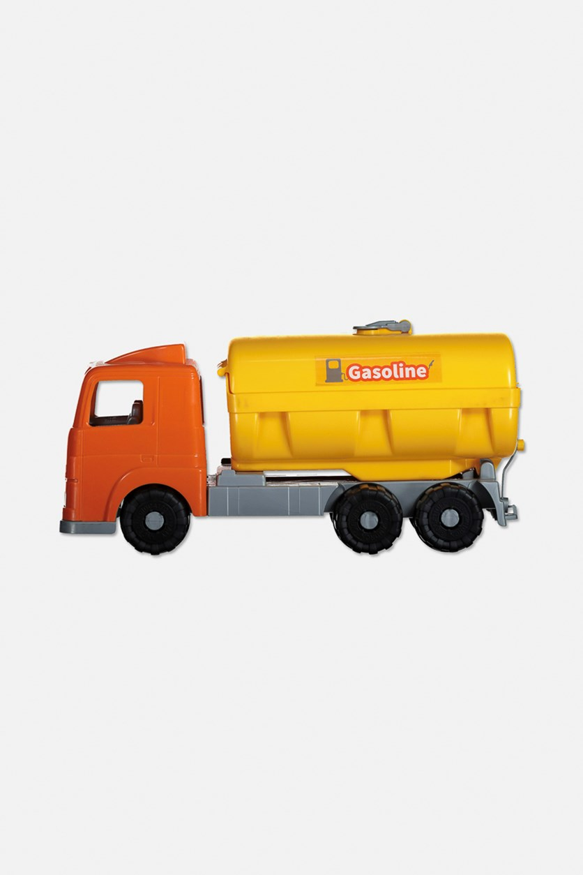 Millennium Tanker Truck, Yellow/Orange/Silver