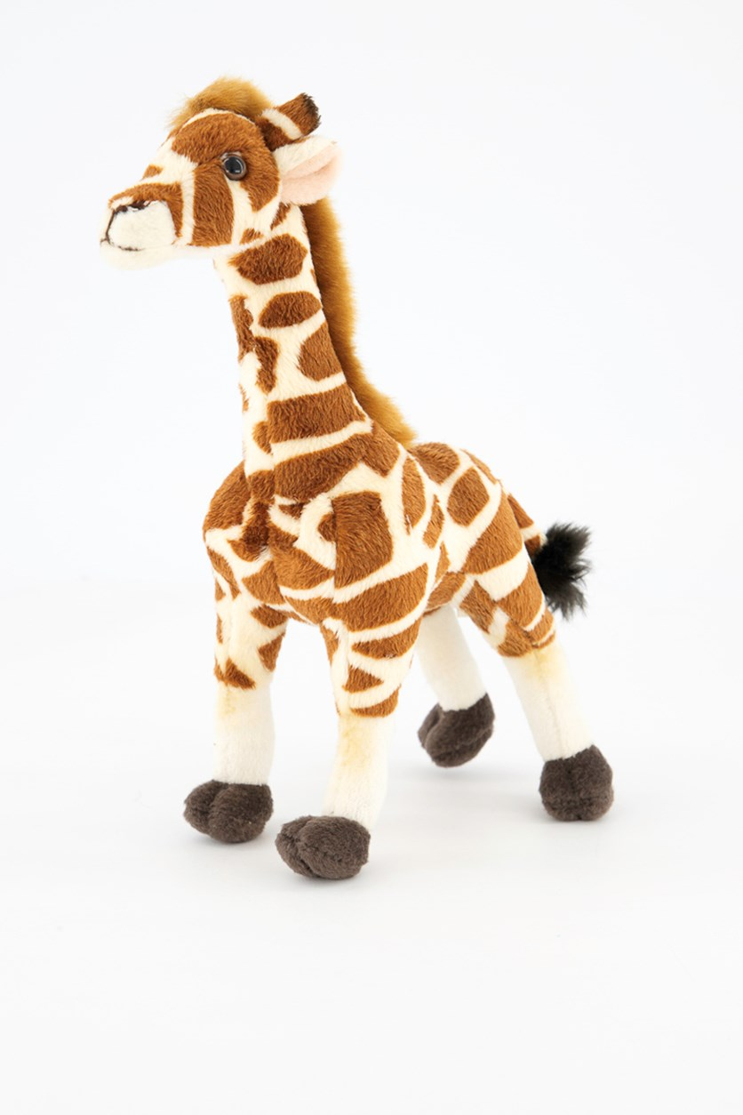 Giraffe Savannah Plush Toy, Brown Combo