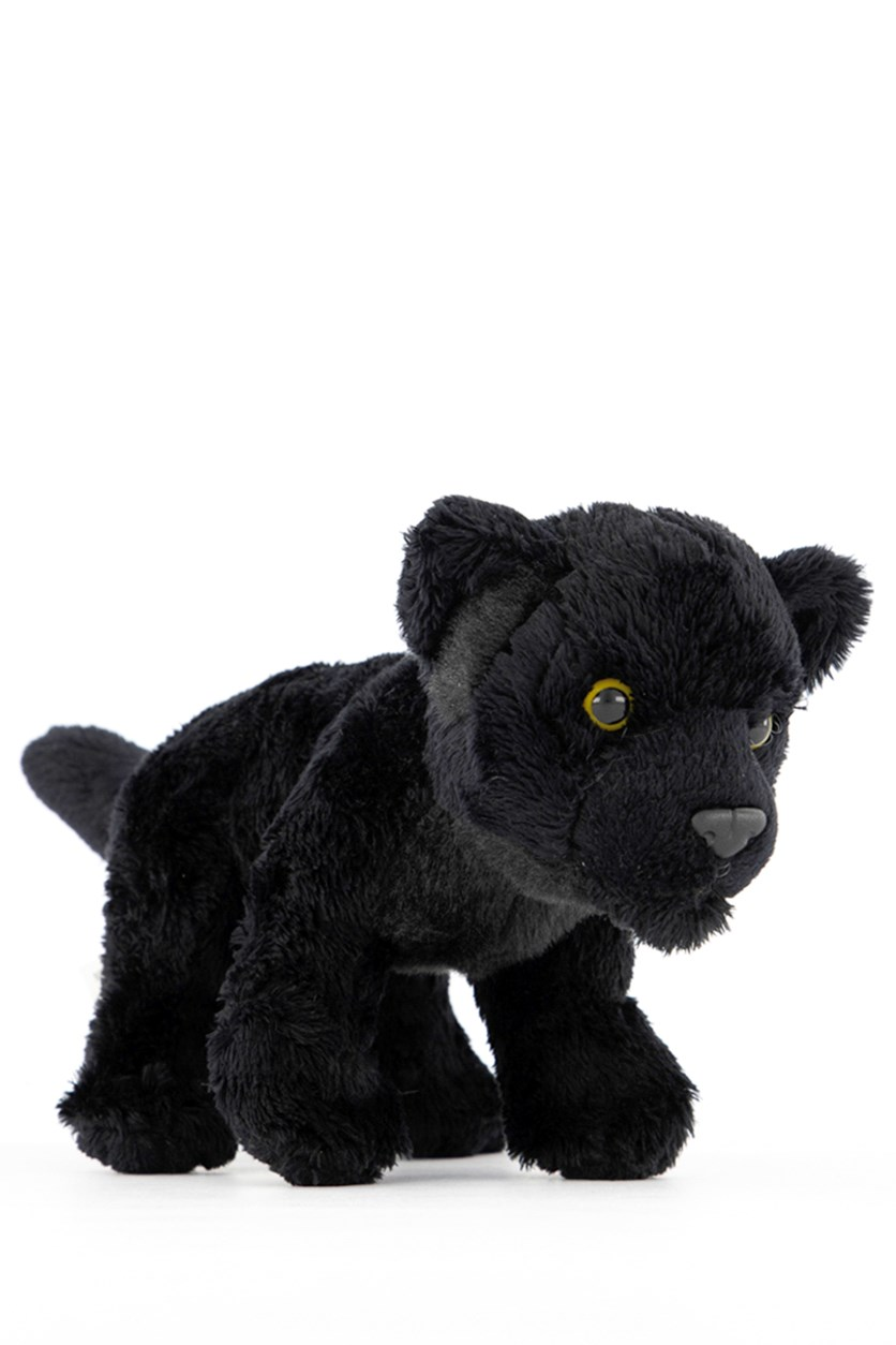 Panther Big Cats Plush Toys, Black