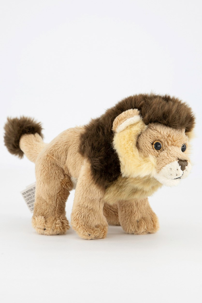 Lion Big Cats Plush Toys, Brown Combo