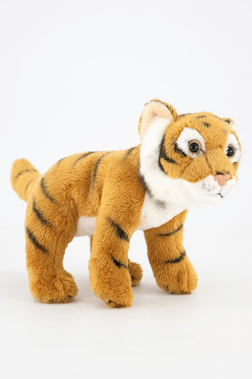 Tiger Big Cats Plush Toys, Brown Combo