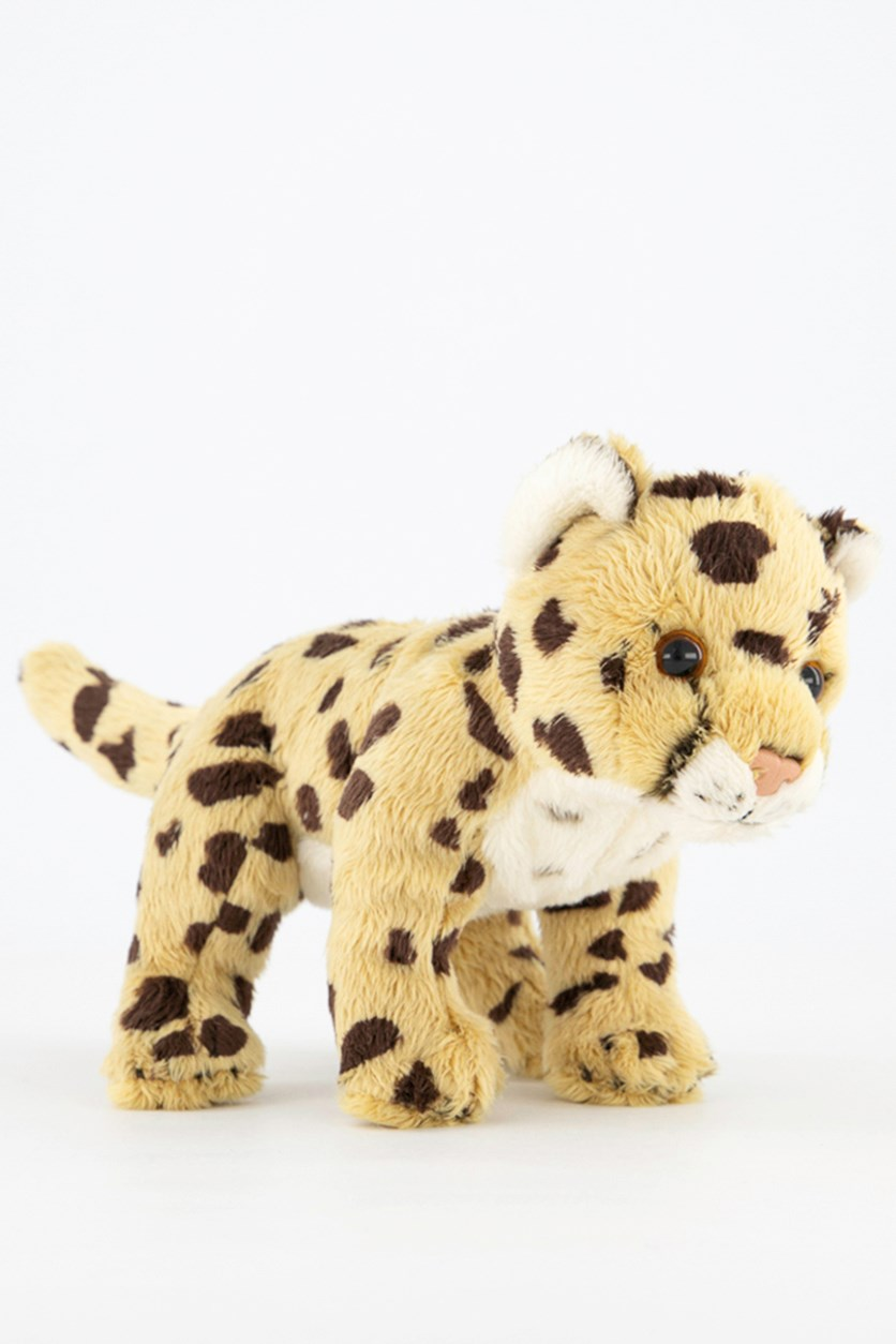 Jaguar Big Cats Plush Toys, Yellow Combo