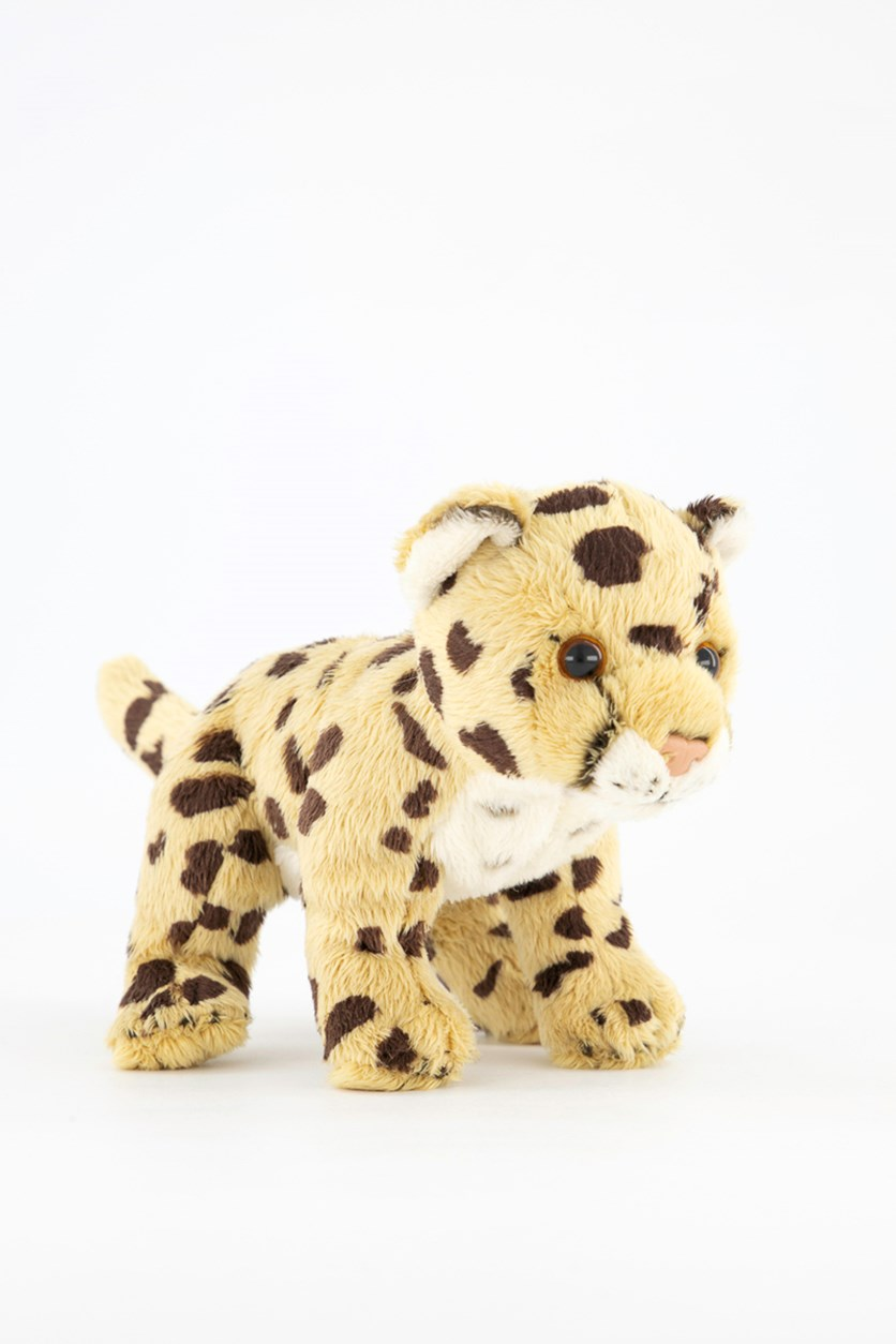 Cheetah Big Cats Plush Toys, Yellow Combo