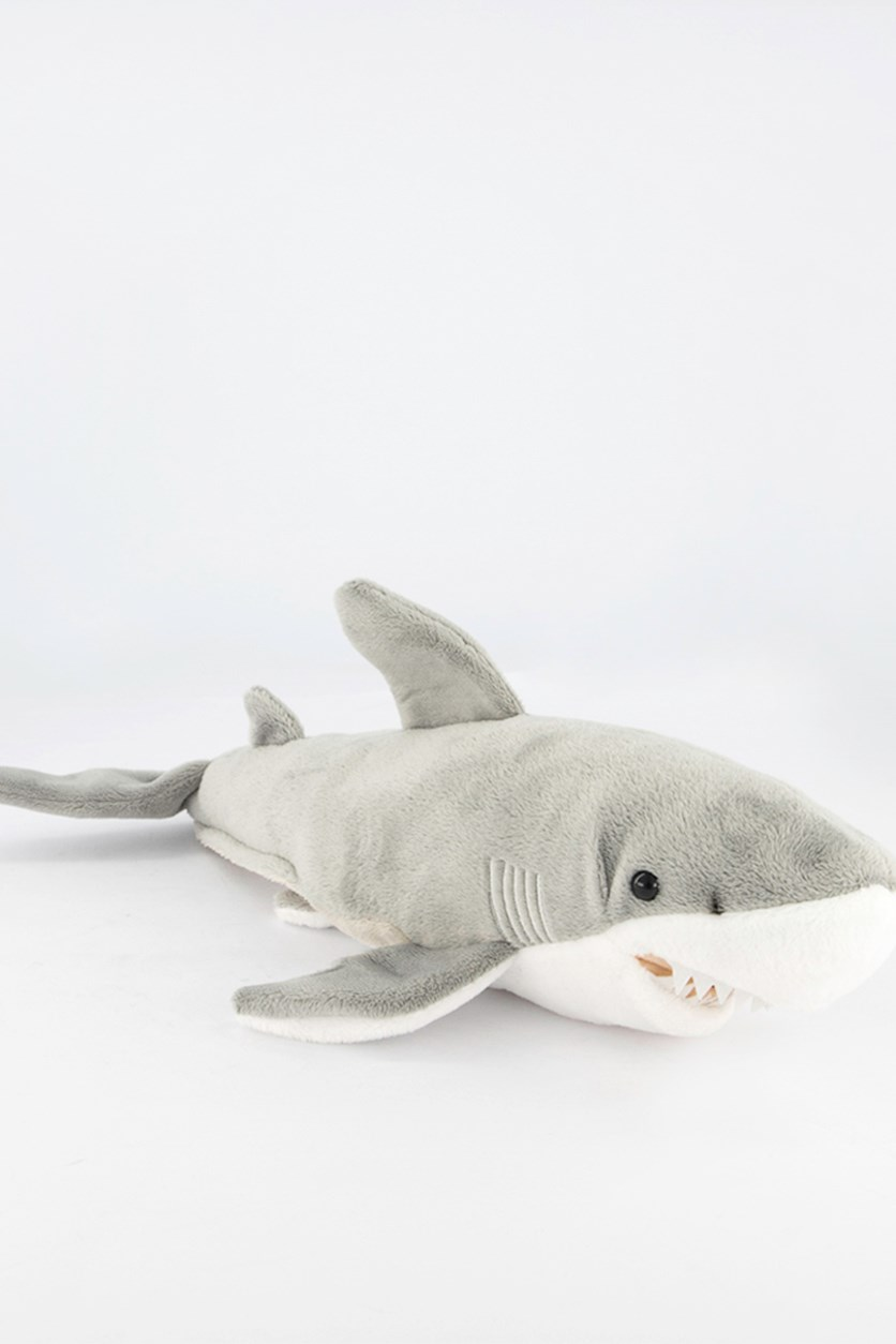 Shark National Geographic Plush, Grey/White