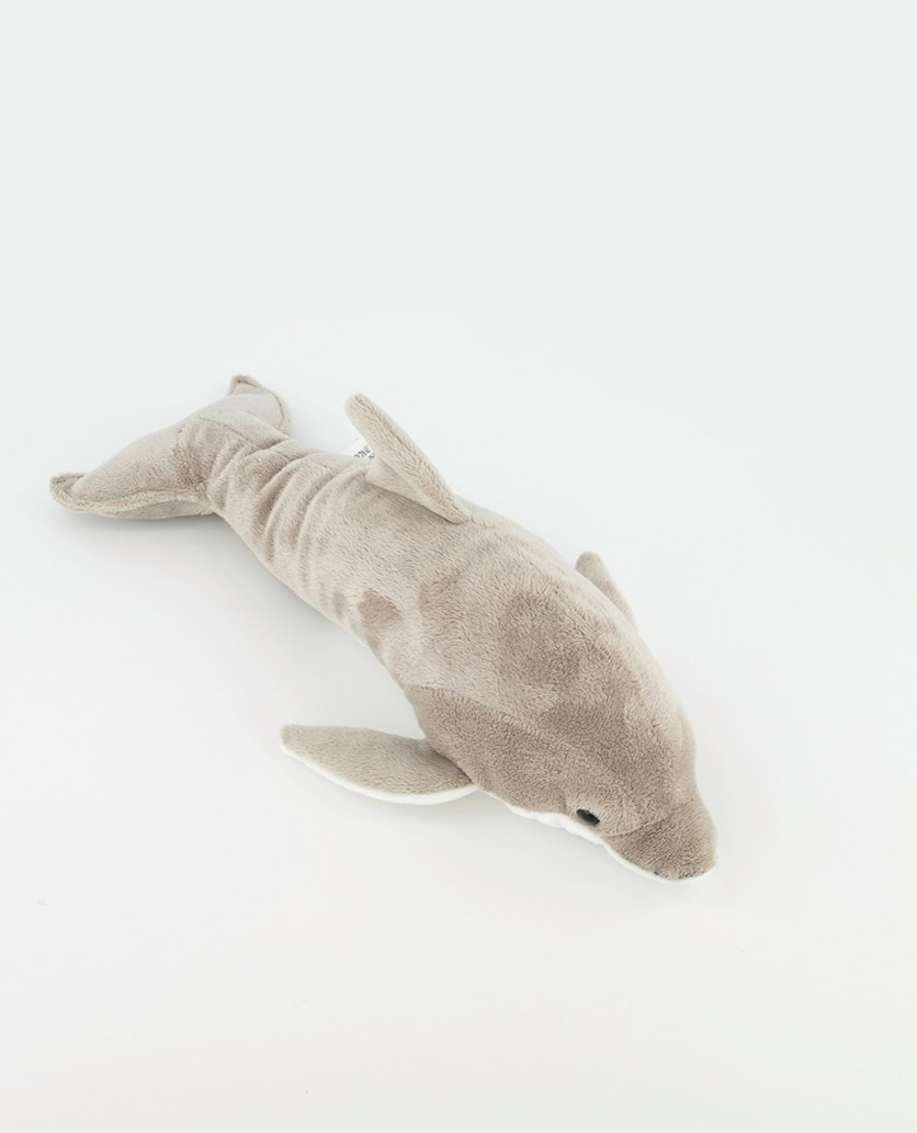 Dolphin National Geographic Plush, Grey/White