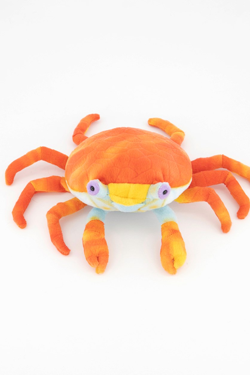 Sally Lightfoot Crab Baby Galapagos Plush Toy, Red Combo