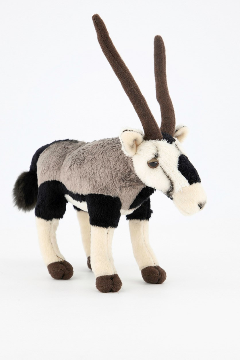 Oryx Desert Plush Toy, Grey Combo