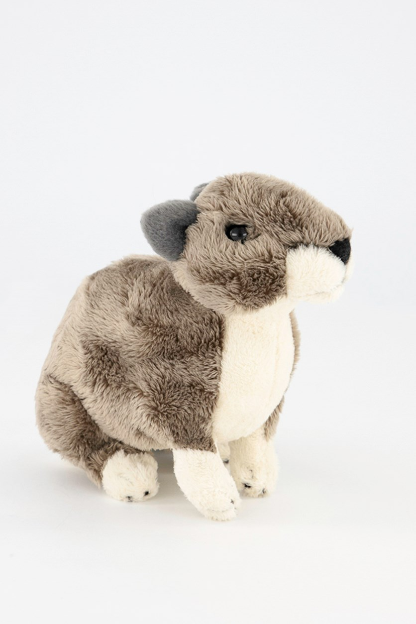 Hyrax Desert Plush Toy, Grey