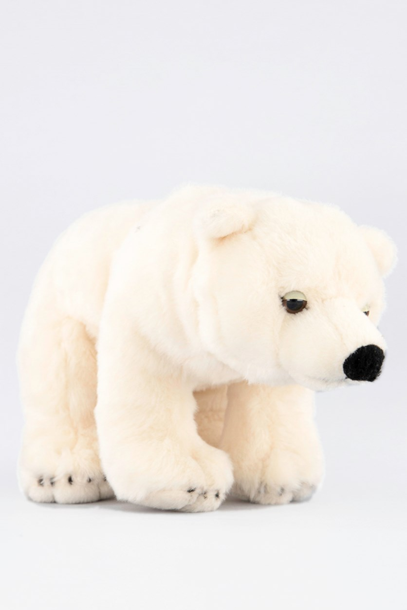 Polar Bear Animal Forest Stuffed Animals Toy, Cream