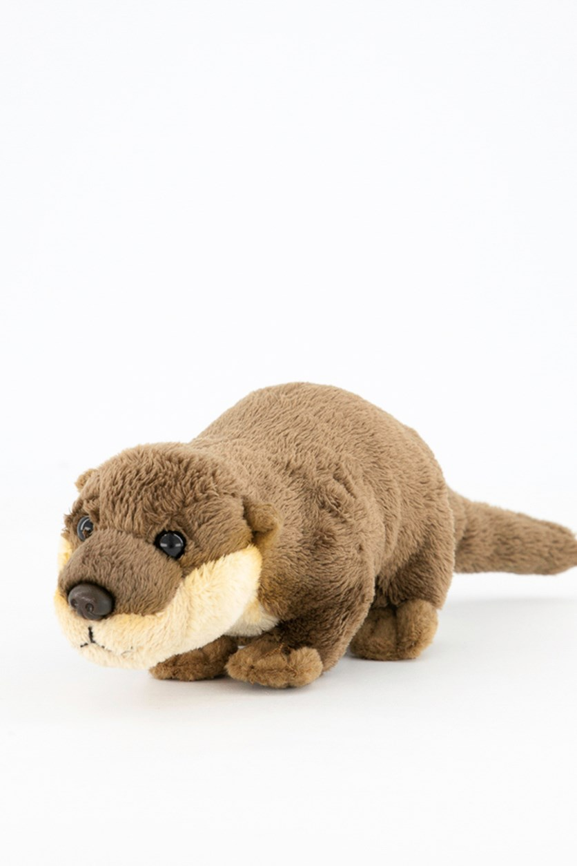 Otter Baby Europe Plush Toy, Brown Combo