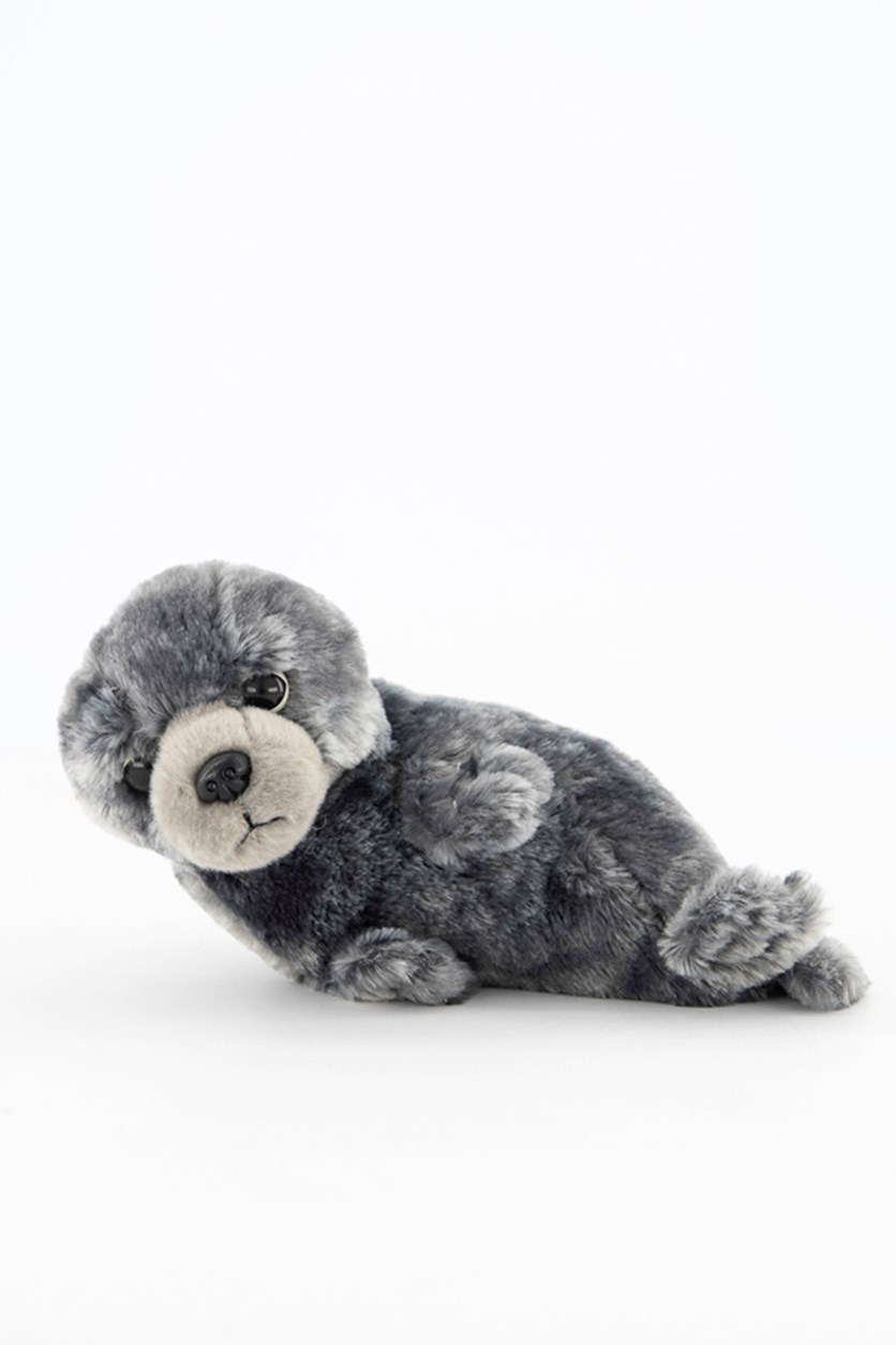 Seal Baby Europe Plush Toy, Blue