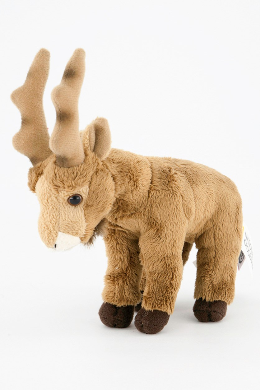 Ibex Baby Europe Plush Toy, Brown Combo