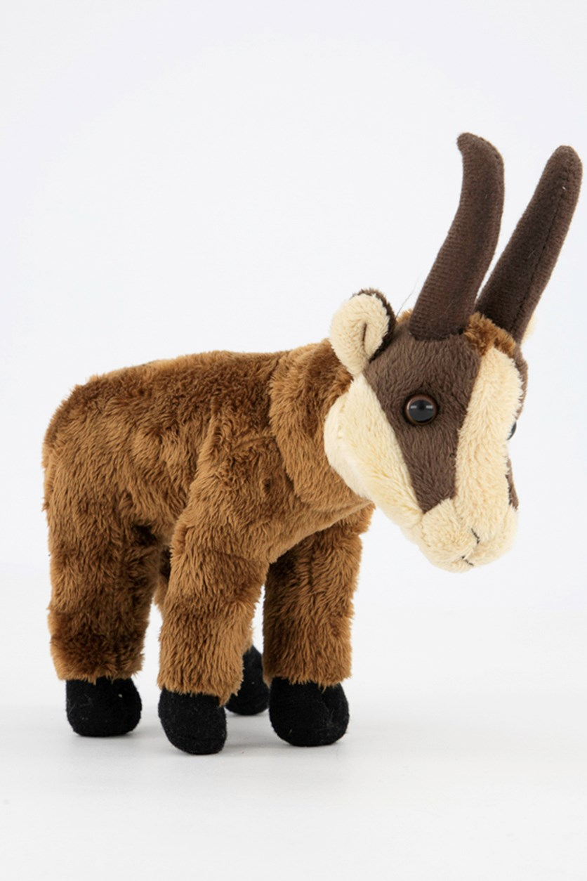 Chamois Baby Europe Plush Toy, Brown Combo