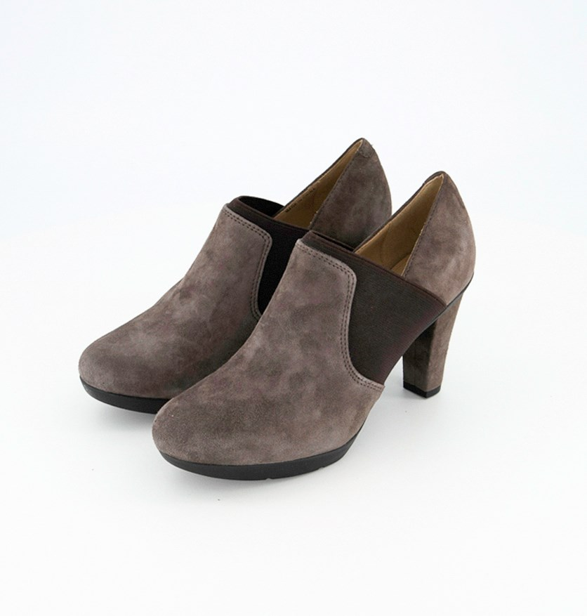 Women's Shoes D Inspiration Goat Suede, Chestnut Brown