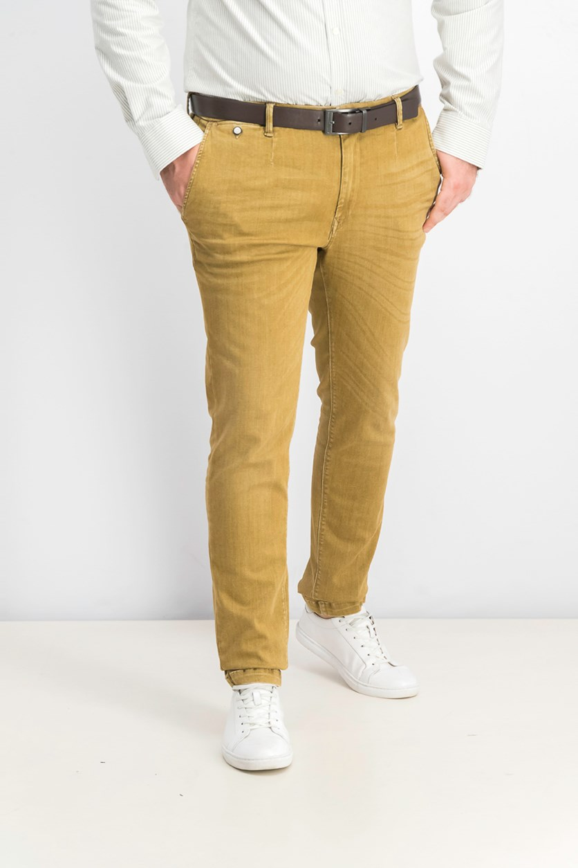 Men's Lehoen Hyperflex Jeans, Brown
