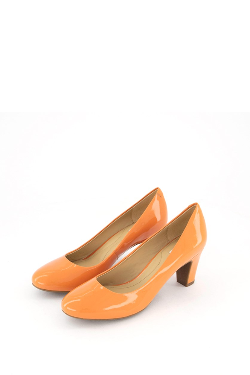 Women's D Marielle Mid Pumps, Light Orange