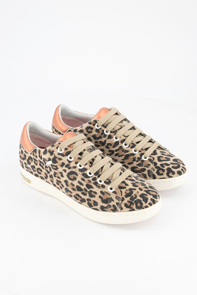 Women's Animal Print D Jaysen Shoes, Light Taupe