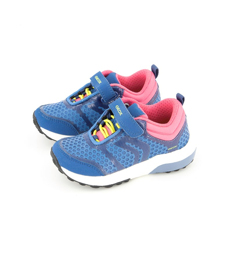 Girls Shoes J Asteroid, Royal/Fuchsia