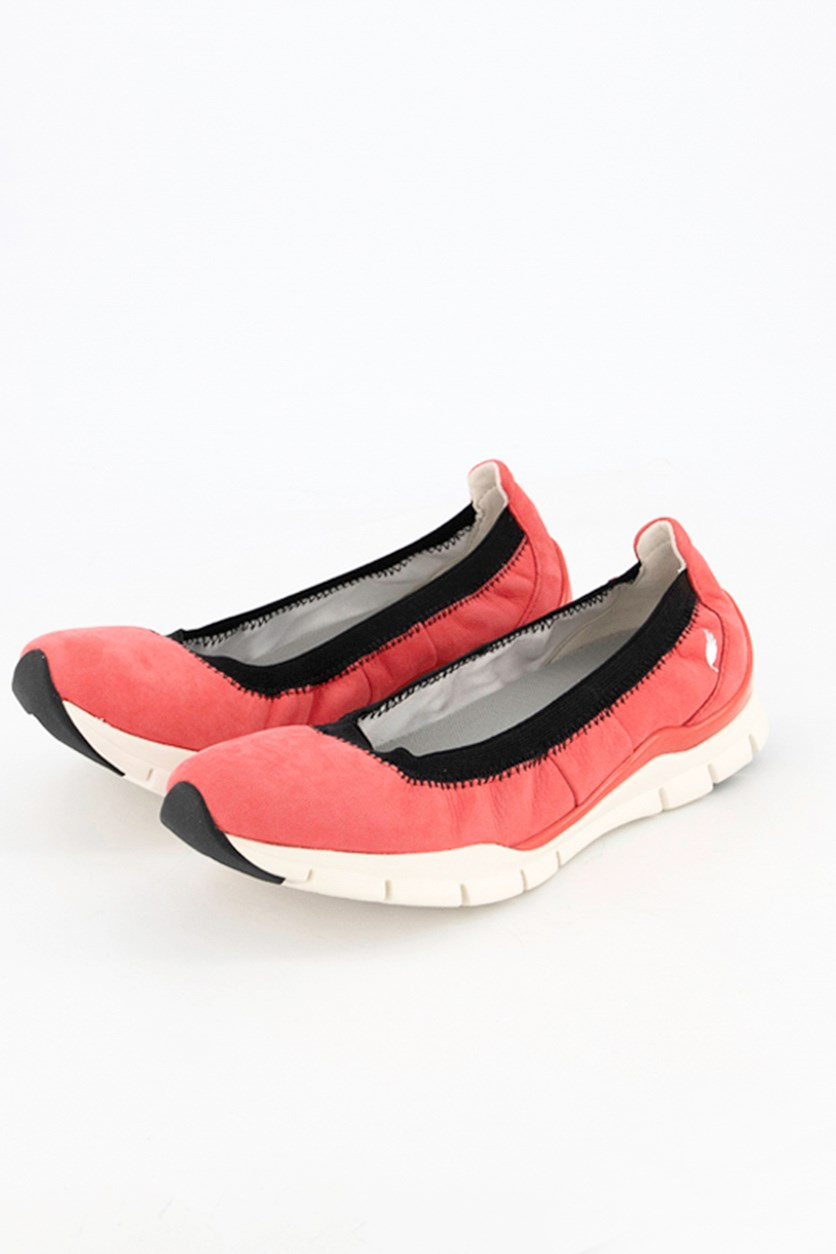 Women's  Sukie Flat Shoes, Coral Pink