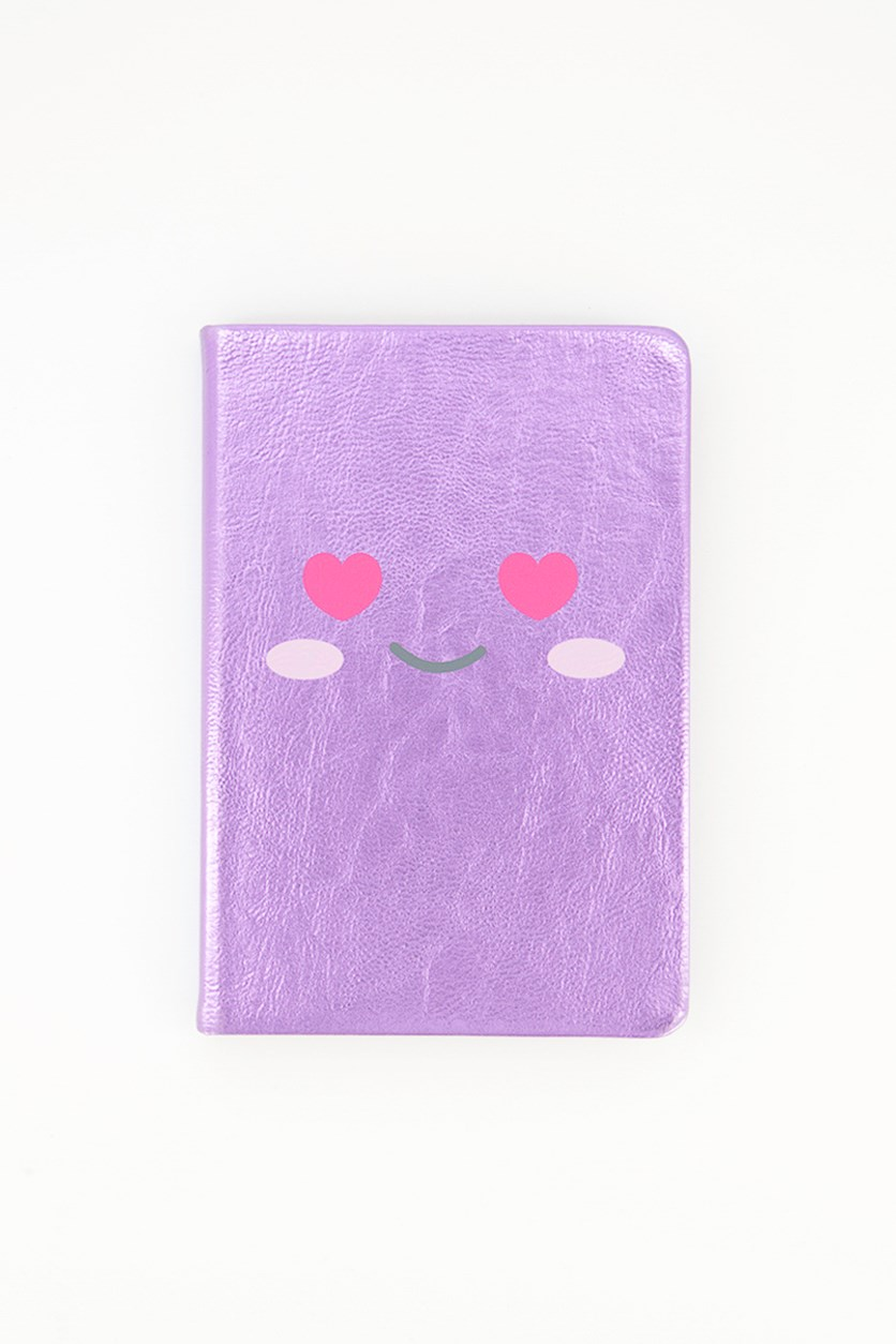 Agenda Face Notepad, Purple