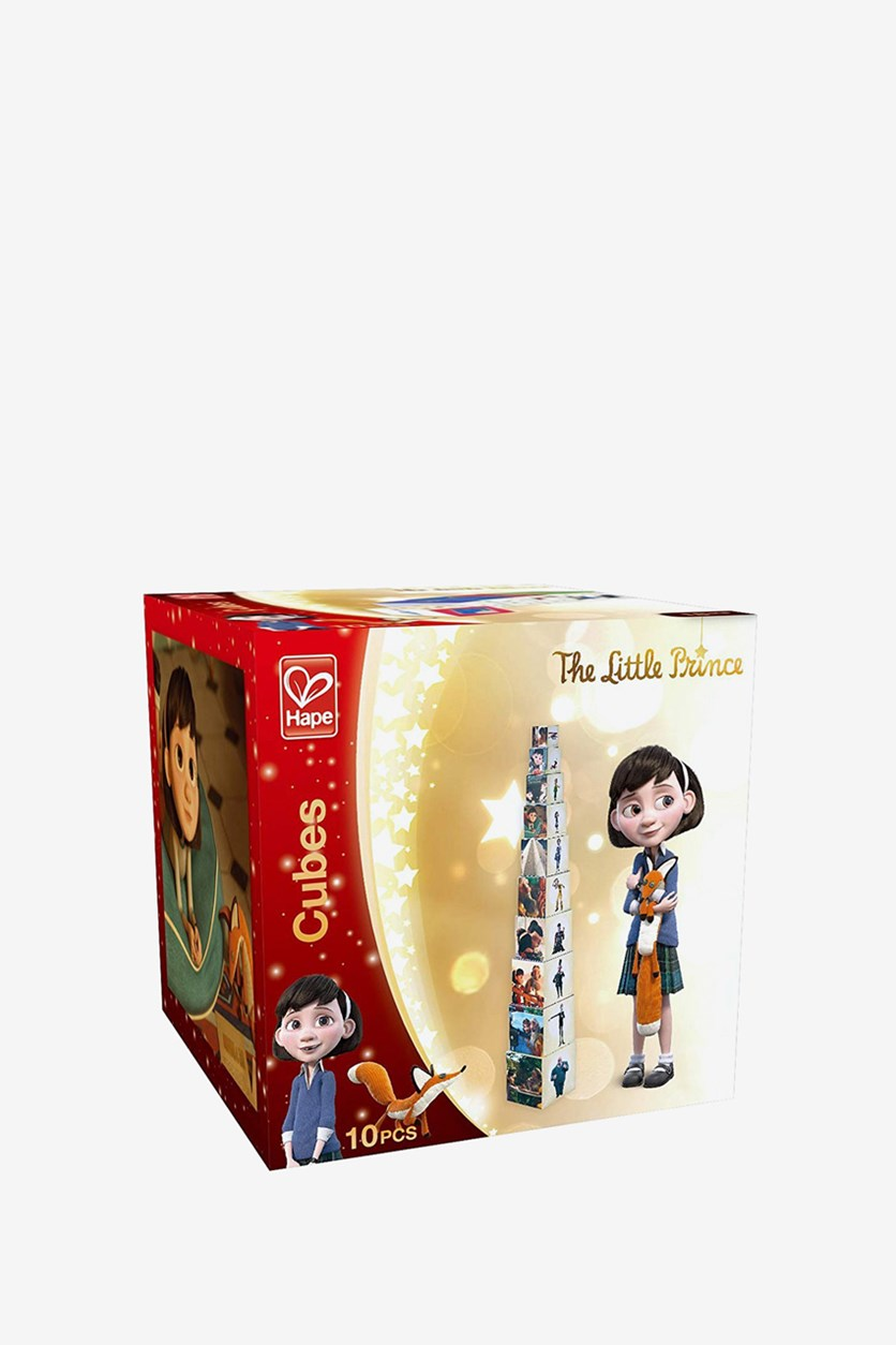 The Little Prince Cubes Educational Toys, Red/Beige
