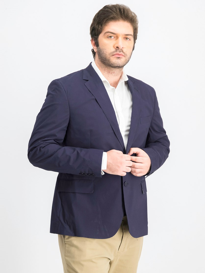 Men's Chantilly1 Poplin Stretch Jacket, Navy