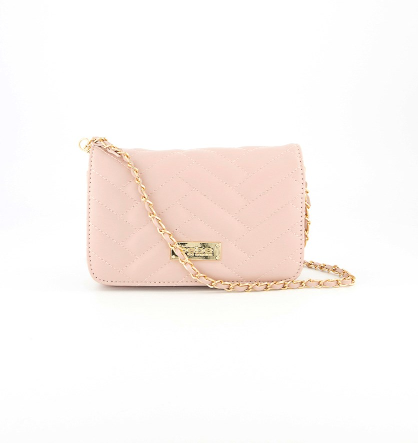 Sophia Mini Crossbody Bag, Blush