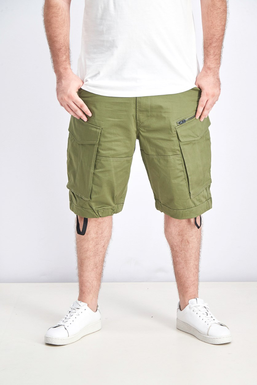 Men's Rovic Loose Fit Cargo Shorts, Olive
