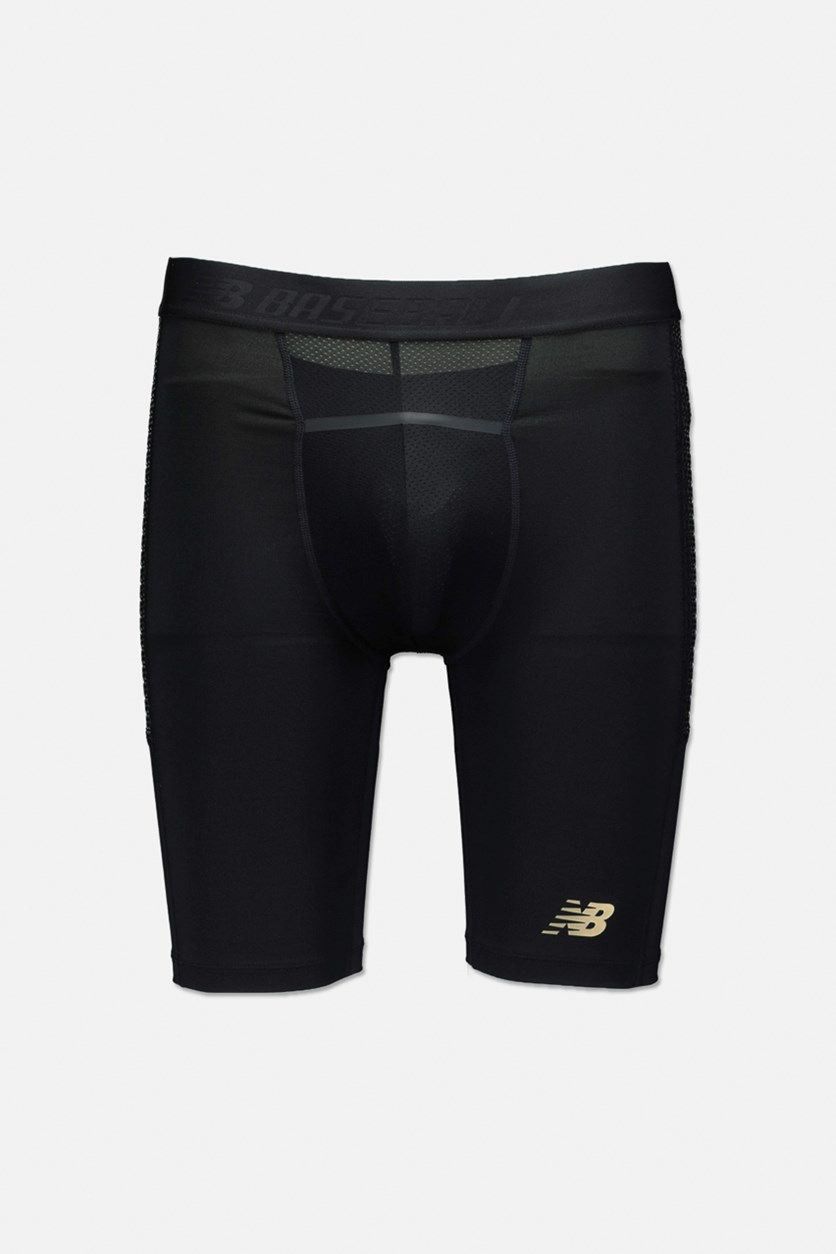 Men's 4040 Bb Baseball Sliding Short, Black