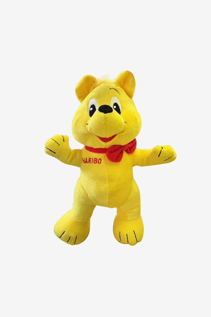 Haribo  Plusch-Goldbar, Yellow/Red