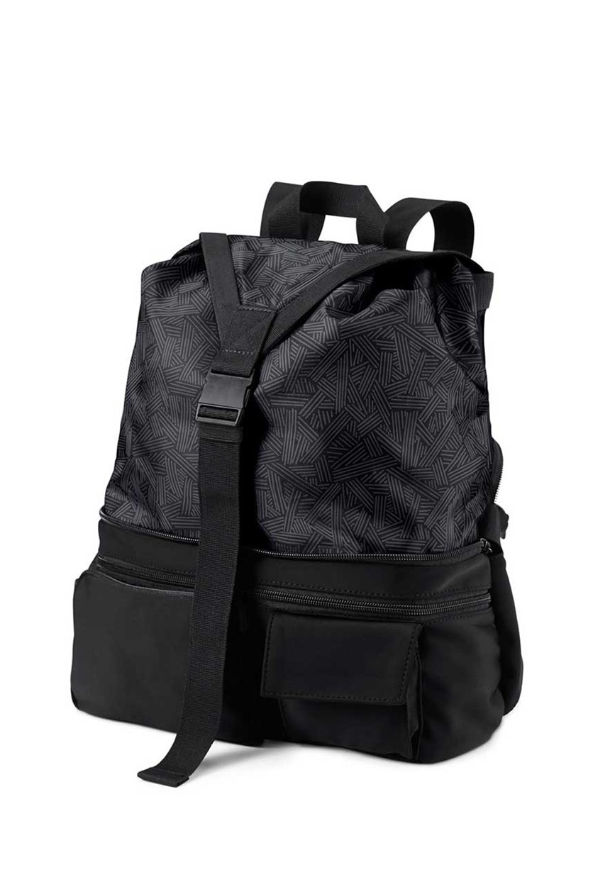 2 In 1 Sports Rucksack, Black