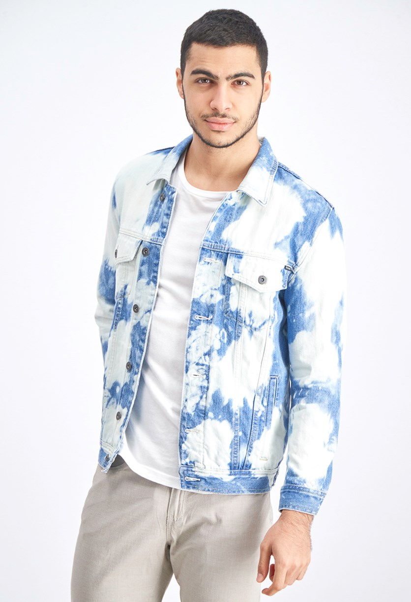 Men's Denim B. Rigid Denim Jacket, Blue