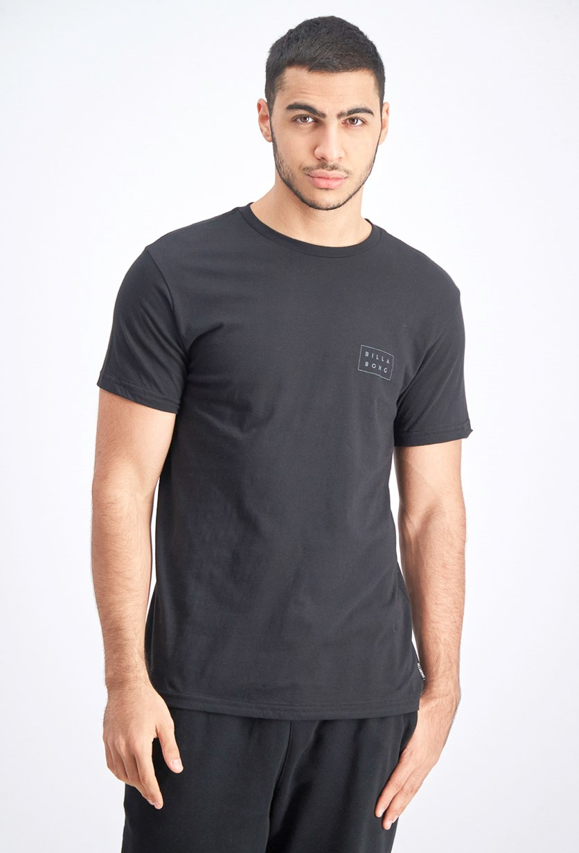 Men's Tailored Fit Die Cut T-Shirt, Black