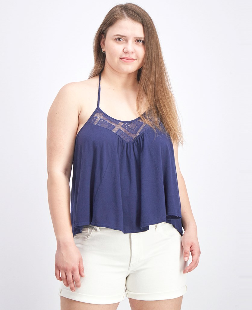 Women's Makes Senes Tops, Deep Sea Blue