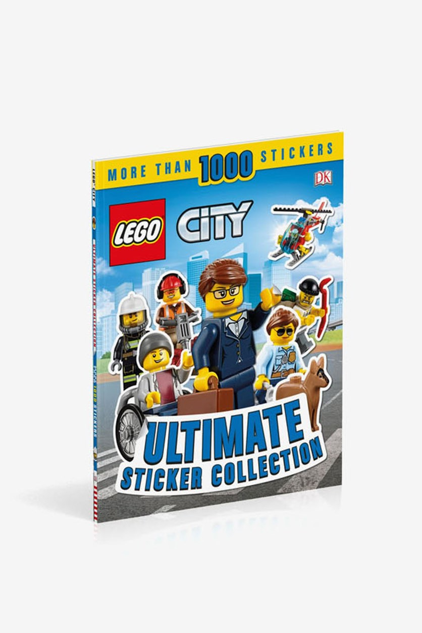LEGO City Ultimate Sticker Collection, Blue Combo