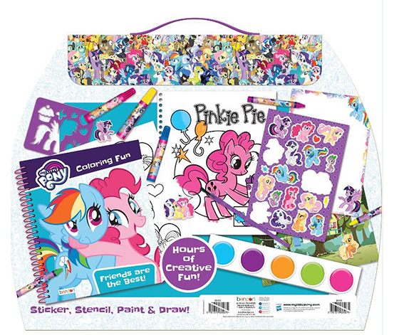 My Little Pony Curved Activity Case, Blue