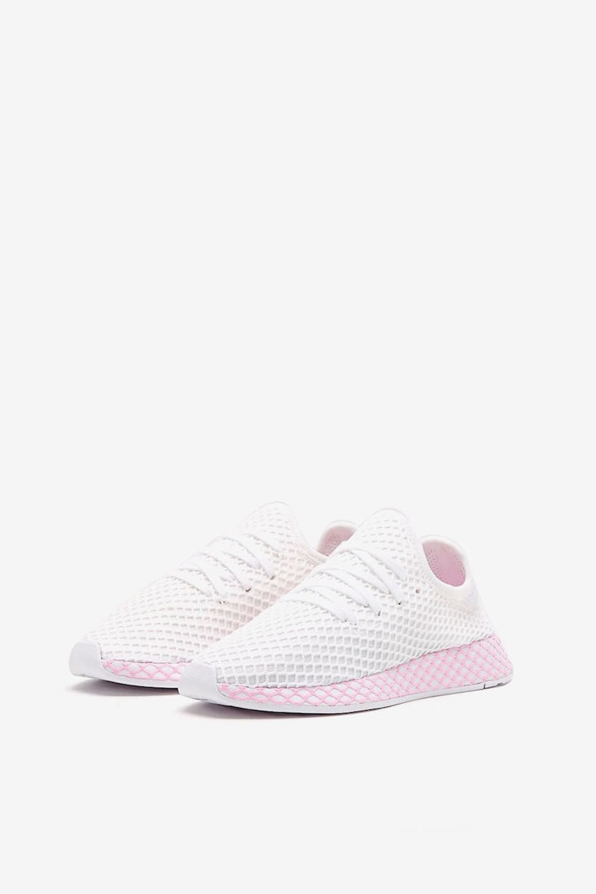 Women's Deerup Shoes, Pink/White