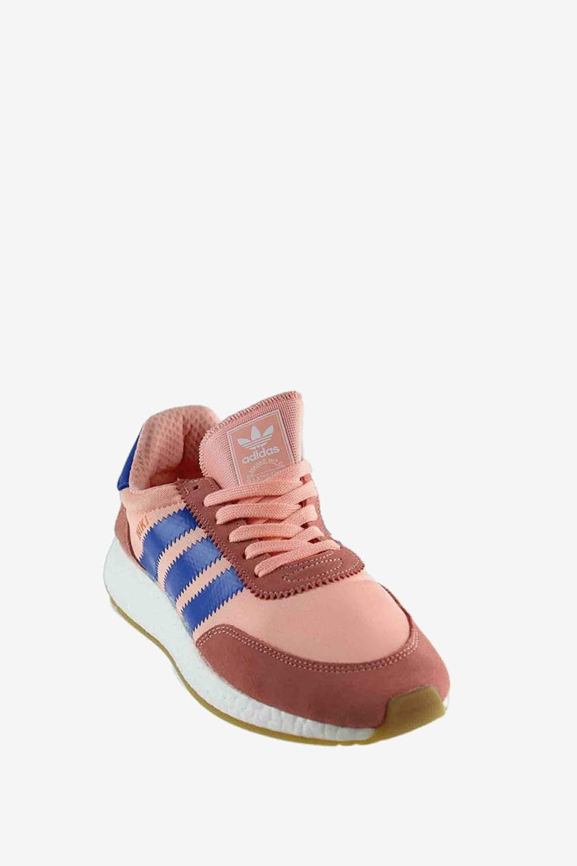 Women's Iniki Running Shoes, Haze Coral/Blue