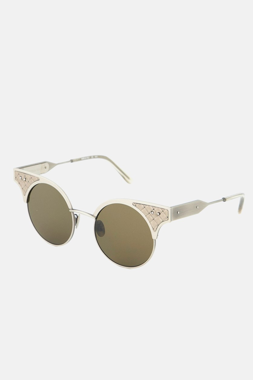 Women's BV0113S-002 Sunglasses, Taupe