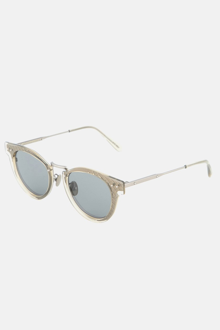Women's BV0117S-004 Sunglasses, Taupe/Transparent