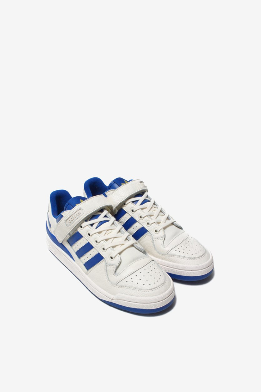 Men's Forum Lo Shoes, Chalk White/Royal