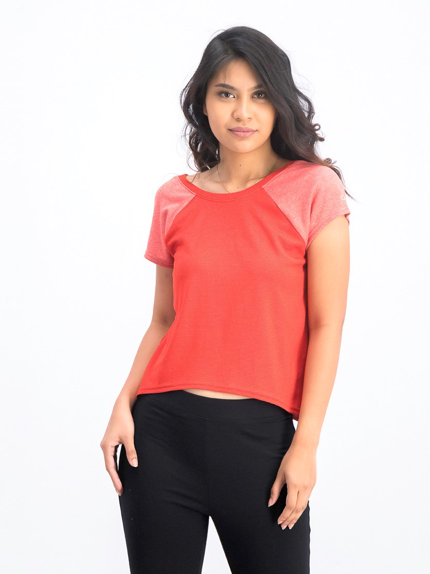 Women's Crisscross Back Top, Scarlet