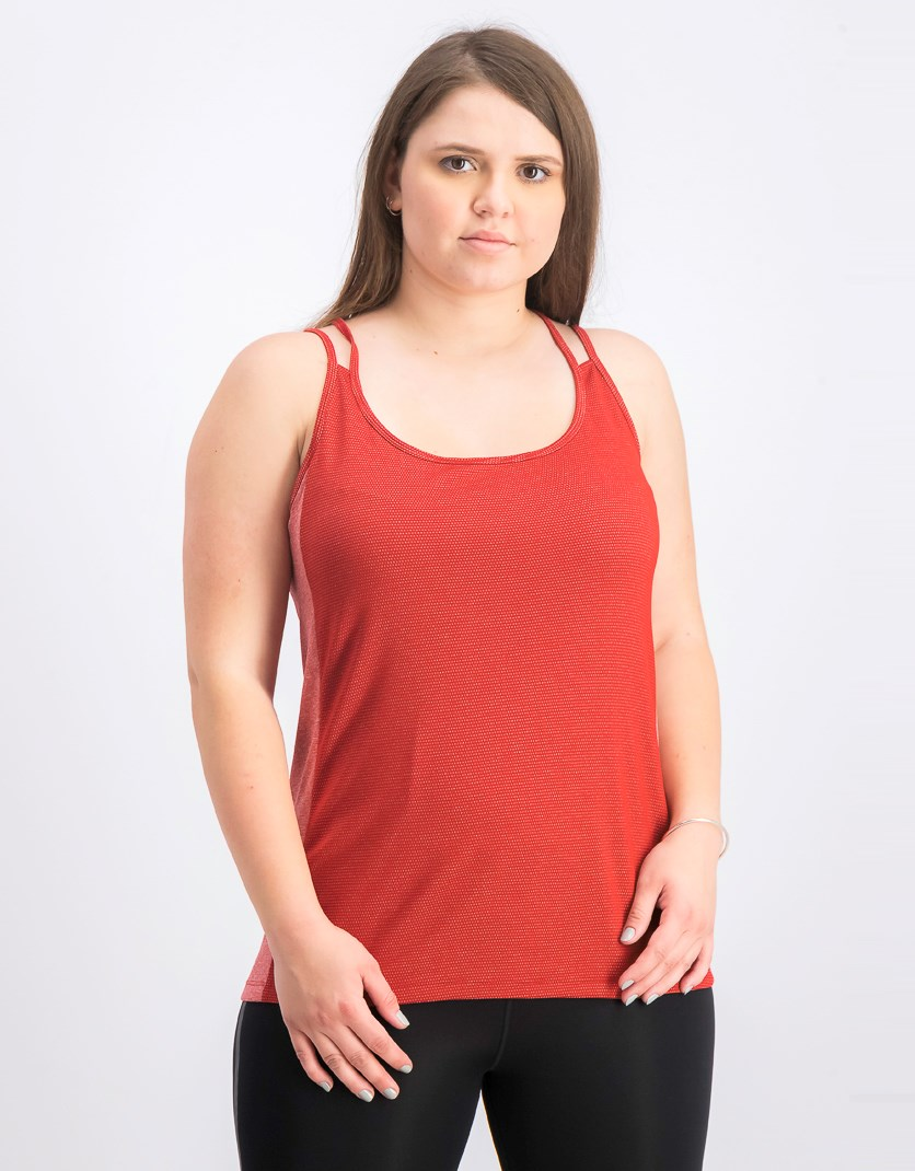 Women's Sleeveless Tee, Cardinal