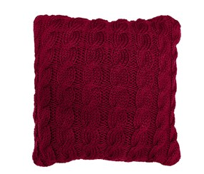 Park B. Smith Classic Cable Square Decorative Pillow, Cinnabar