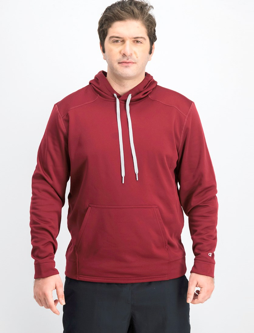 Men's Athletic Hooded Jacket, Maroon