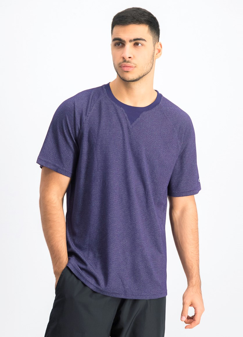 Men's School Pride T-Shirt, Purple