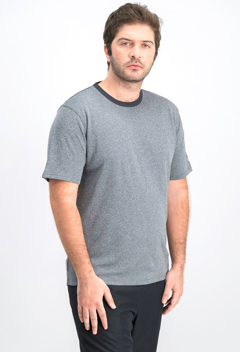 Men's Crew Neck Ringer Tee, Navy